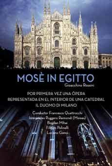Cartel de Moisés en Egipto, Il Duomo, Milano