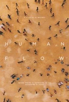 Cartel de Marea Humana (Human flow) (VOSE)