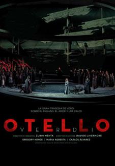 Cartel de Otello, Palau de les Arts