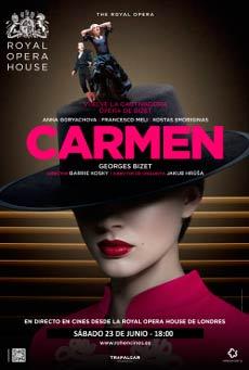 Cartel de Carmen, de Bizet (Ópera de Sidney)