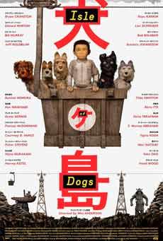 Cartel de Isla de perros