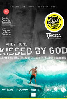 Cartel de Andy Irons: Kissed by god (VOSE)